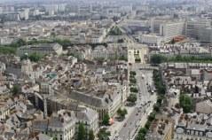 Vue de la Tour Bretagne