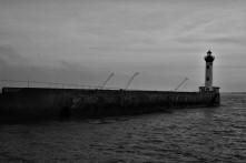 Port de Saint Nazaire aussi froid qu'il y paraît sur la photo